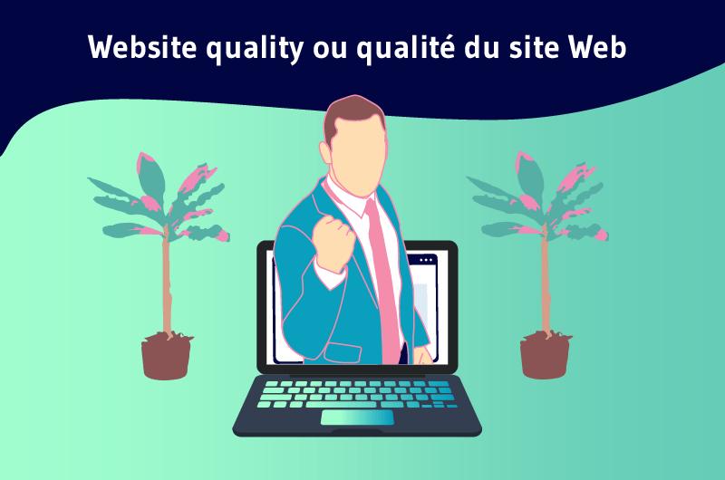 qualité d'un site web