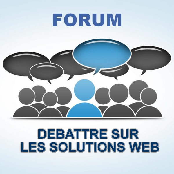 forum sur les solutions web