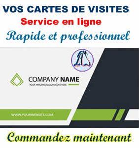 Cartes De Visite En Ligne Au Cameroun Bafoussam Yaounde Douala