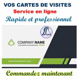 Cartes De Visite En Ligne Au Cameroun