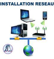 Mettre en place un réseau informatique : Que vous soyez à Bafoussam, Yooundé, Douala au n'importe ou au Cameroun, ECS Informatique vous accompagne.