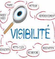 visibilité et référencement d'un site web