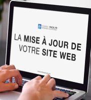 Mise à jour du site web par ECS Informatique, votre Agence Web au Cameroun