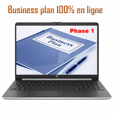 Business plan 100% en ligne phase 1