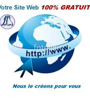 Création de site web gratuit au Cameroun, Yaoundé, Douala, Bafoussam, Afrique centrale, etc.
