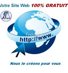 Création de site web gratuit au Cameroun, Yaoundé, Douala, Bafoussam, Gabon, Congo, Cote d'Ivoire, RCA, Tchad, Guinée Equatoriale