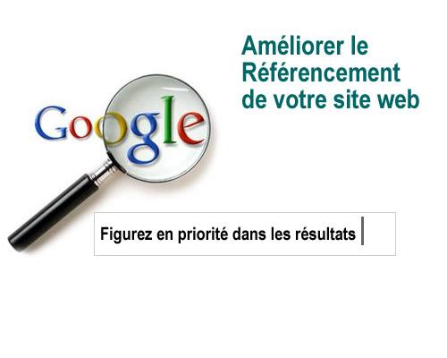 référencement du site web visibilité sur google