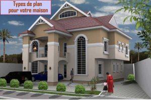 Types de plans de maison